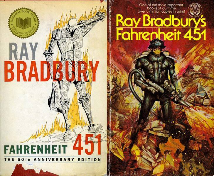 the allusion in fahrenheit 451 a novel by ray bradbury Important quotes with page numbers from ray bradbury's fahrenheit 451 read out of a book by montag bradbury repeatedly employs possible allusion to plato.