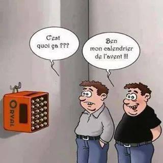 Calendrier De Lavent Humour.Calendrier De L Avent